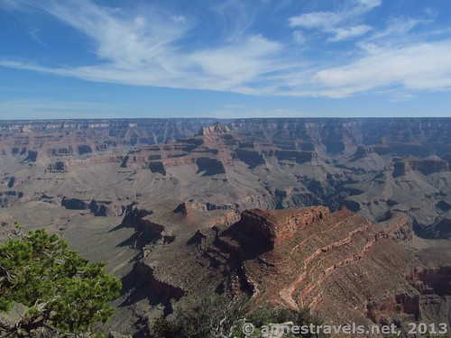 Views from Shoshone Point, Grand Canyon National Park, Arizona