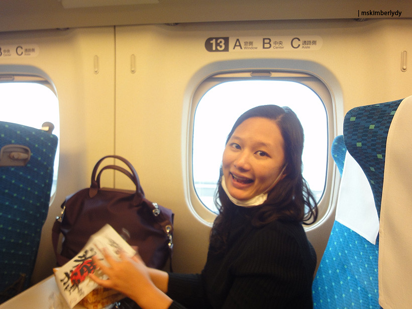 Japan 2016: Day 4 On board bento
