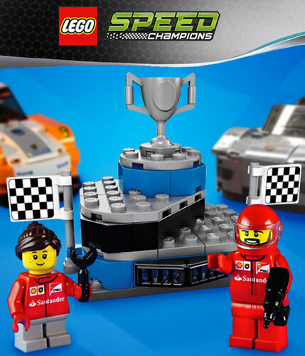 LEGO Speed Champions Winner's Podium