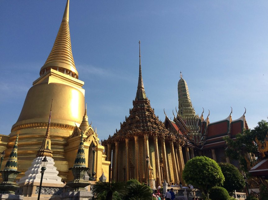 Grand Palace Outer Court - Copyright Travelosio