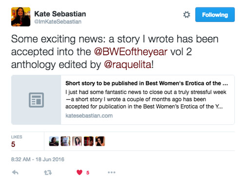 kate sebastian tweet