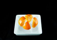 Levitating Orange by Paula Fry