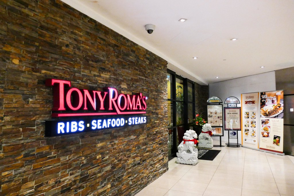 Suntec City Restaurants: Tony Roma's