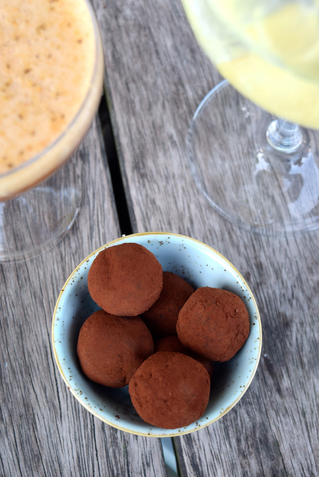 Gin Mare Chocolate Truffles at Rocksalt, Folkestone | www.rachelphipps.com @rachelphipps