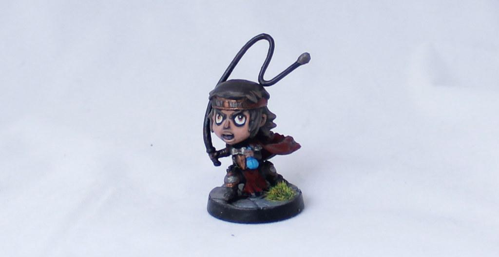 Super Dungeon Explore Von Drakk Manor Heroes Von Wilder Painted Chibi Miniature