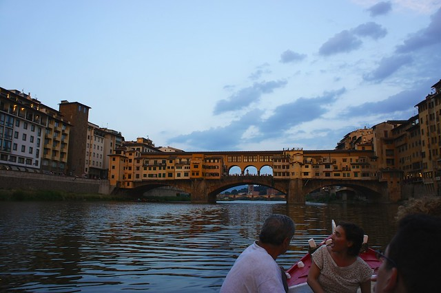 Florence from the Arno