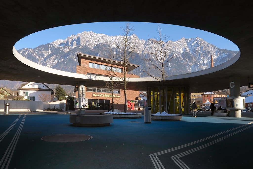 Schaan - Bus Station