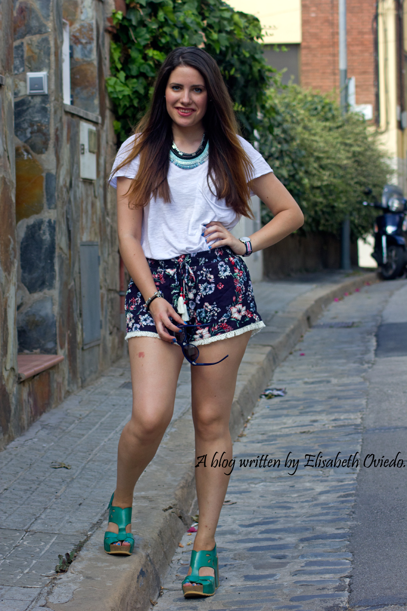flower shorts HeelsandRoses (2)