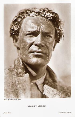 Gustav Diessl in Die weiße Hölle vom Piz Palü (1929)