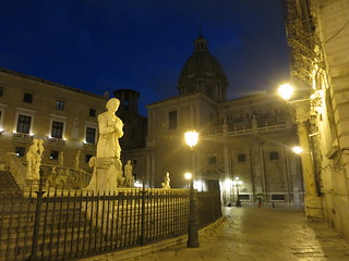 Palermo Chiesa di Santa Caterina & Fontana Pretoria