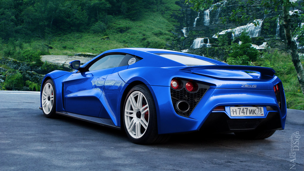 Zenvo St1 Blue Zenvo St1 Blue Flickr