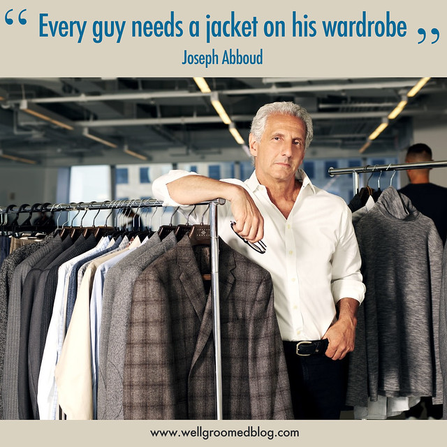 Joseph Abboud Interview with Well-Groomed Blog