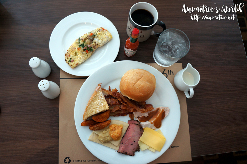 Ascott Makati Breakfast Buffet