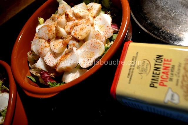 Seiche Poêlée au Pimenton de la Vera & Vinaigrette au Xérès  © Ana Luthi Tous droits réservés 11