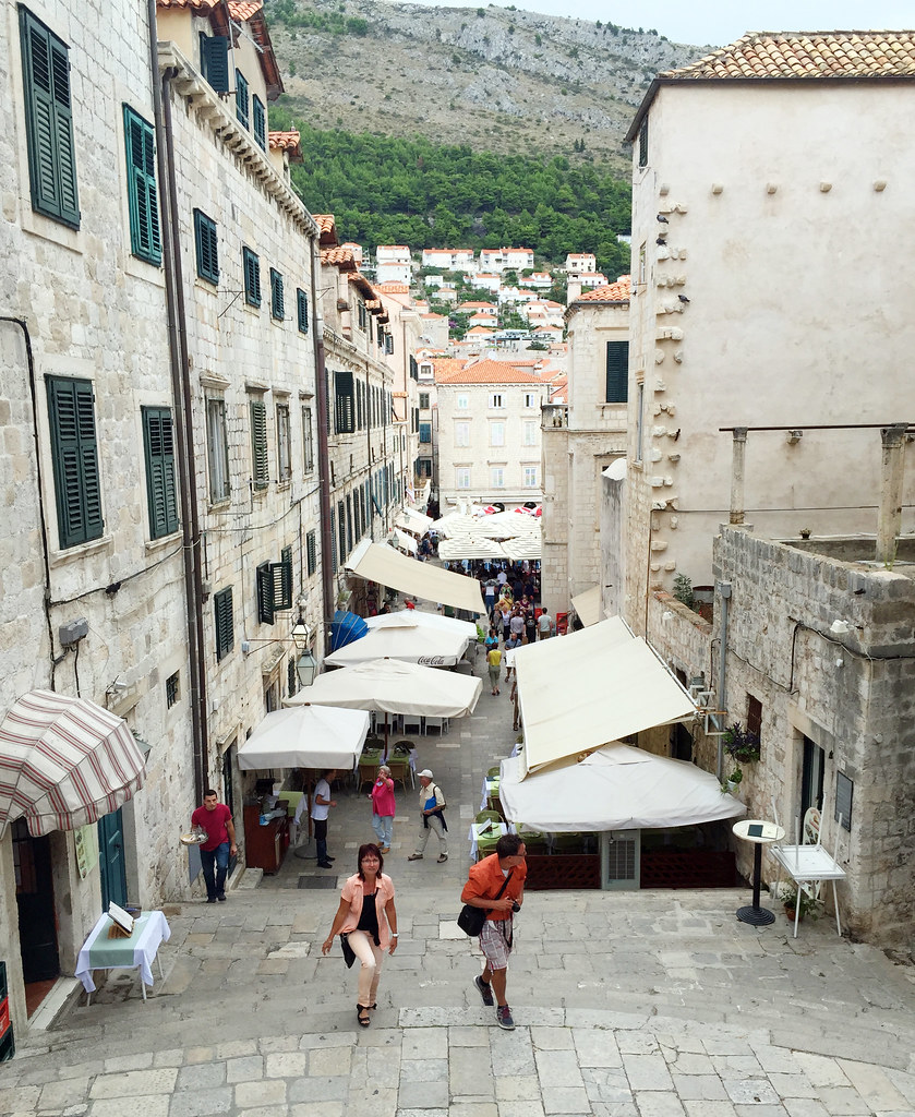 Dubrovnik Croatia Game of Thrones location Cersei walk of atonement