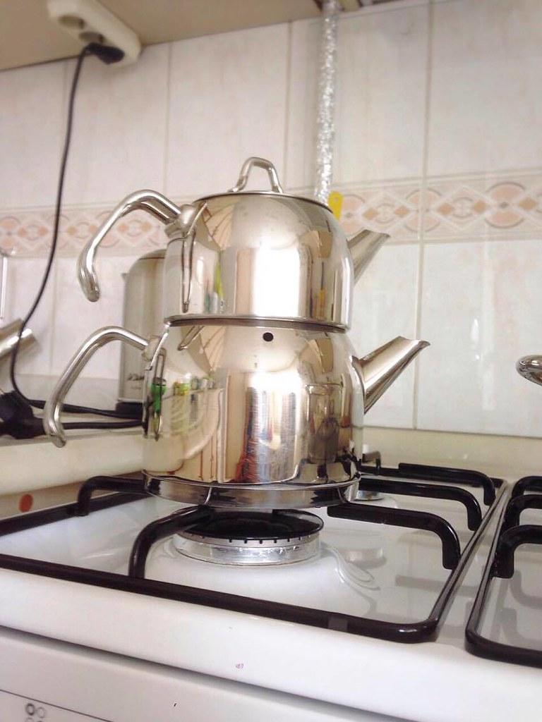 土耳其雙層茶壺
