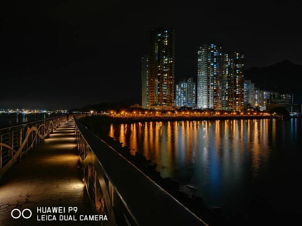 Huawei P9 夜間模式