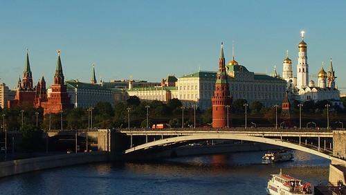 Реставрация кремлёвских стен.
