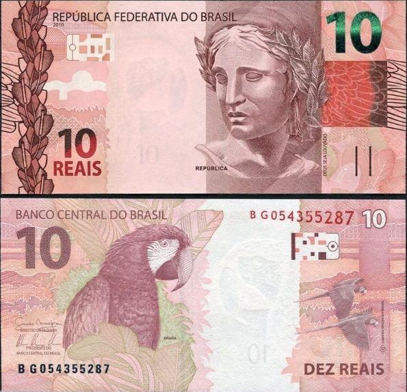 10 Reais Brazília 2010 (2013)