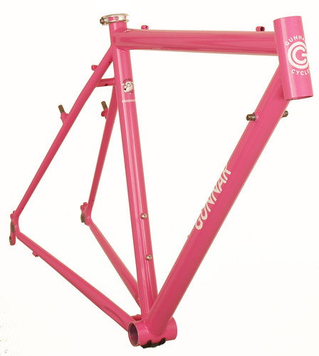 Gunnar CrossHairs Custom in Pink Panther- Front View | by Gunnar Cycles