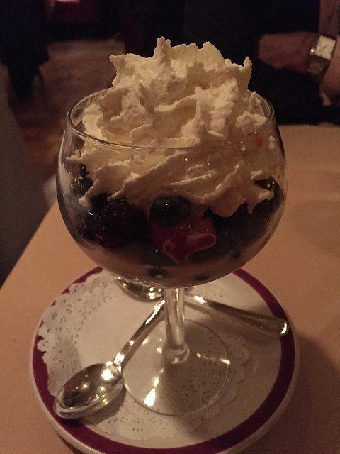 English trifle - House of Prime Rib