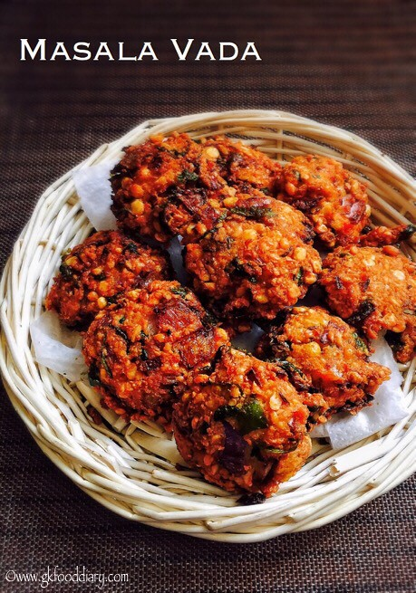 Masala Vada Recipe for Toddlers and Kids3