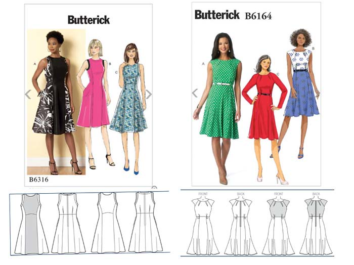 Butterick dresses