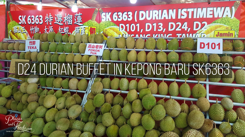 D24 Durian Buffet in Kepong Baru SK6363
