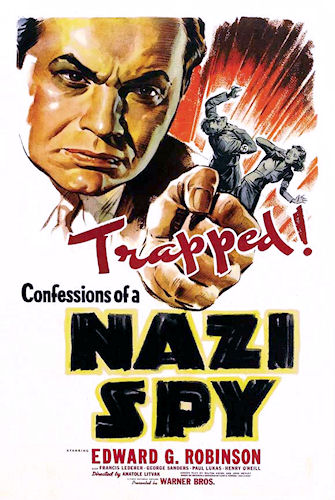 Confessions of a Nazi Spy - Poster 1