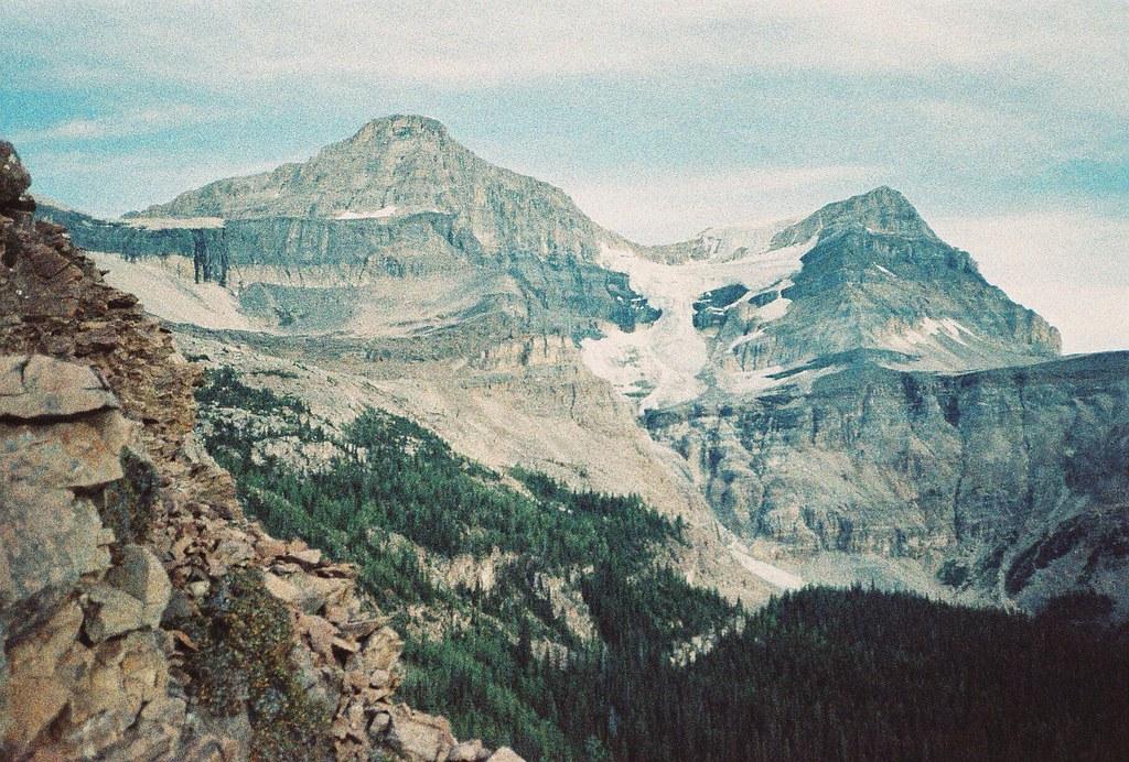 Hanging Glacier on Mount Ball