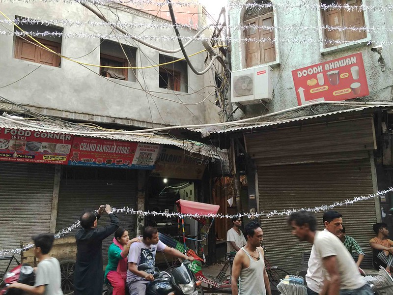 Photo Essay - The Ramzan Sky, Matia Mahal Bazaar