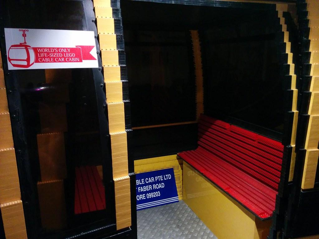 Lego cable car, Sentosa, Singapore