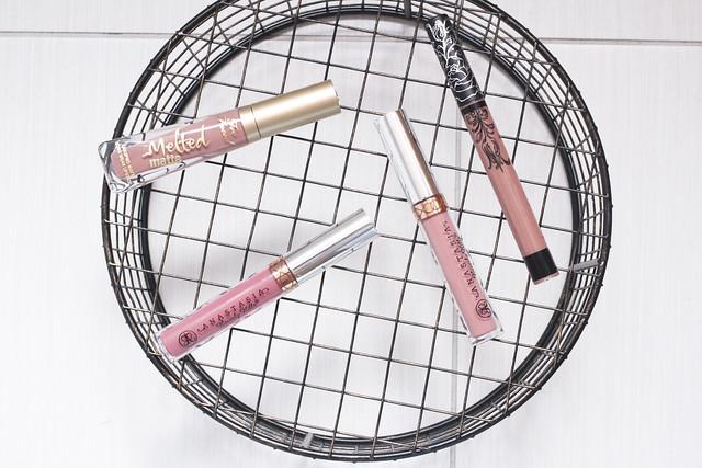 matte liquid lipstick haul