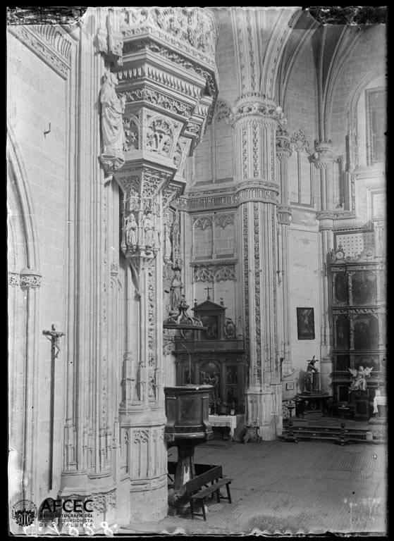 Monasterio de San Juan de los Reyes en Toledo a comienzos del siglo XX. Autor Desconocido   © Centre Excursionista de Catalunya