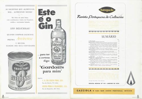 Banquete, Nº 119, Janeiro 1970 - 2