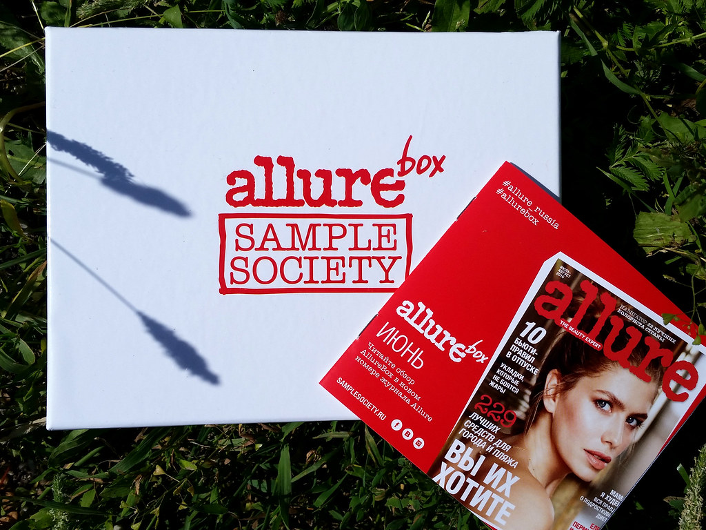 allurebox июнь 2016