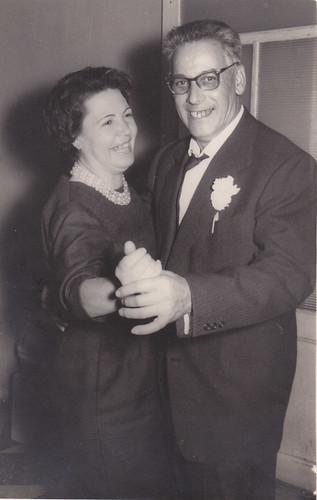 Jacinto Monclús i la seva senyora