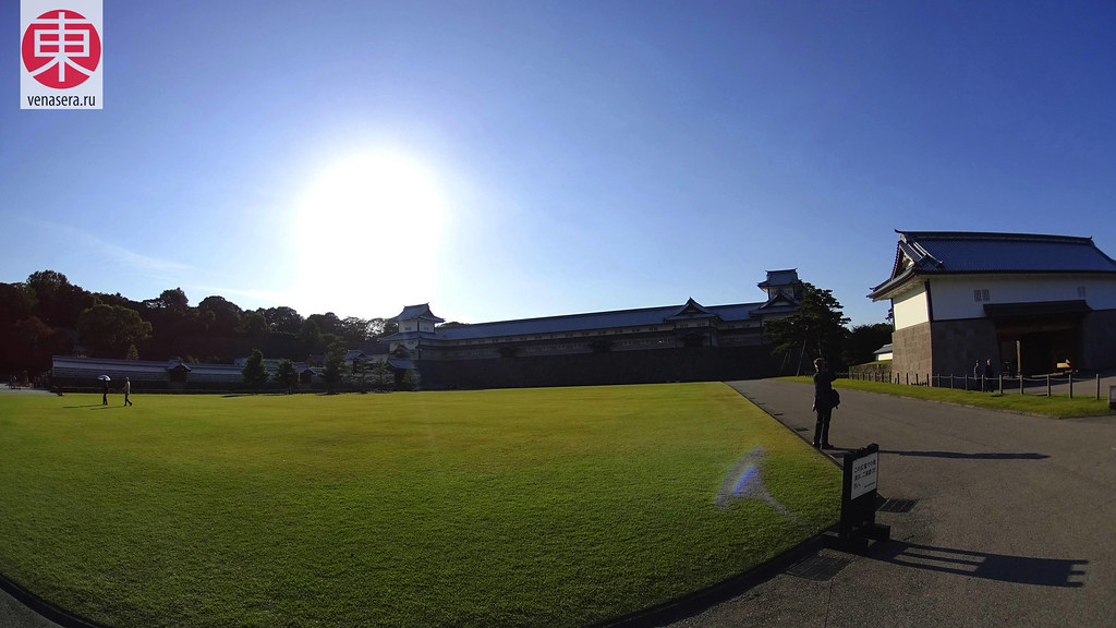 Сандзиккэн-нагая (三十間長屋), Город Канадзава, Kanazawa, 金沢, Замок Канадзава, 金沢城
