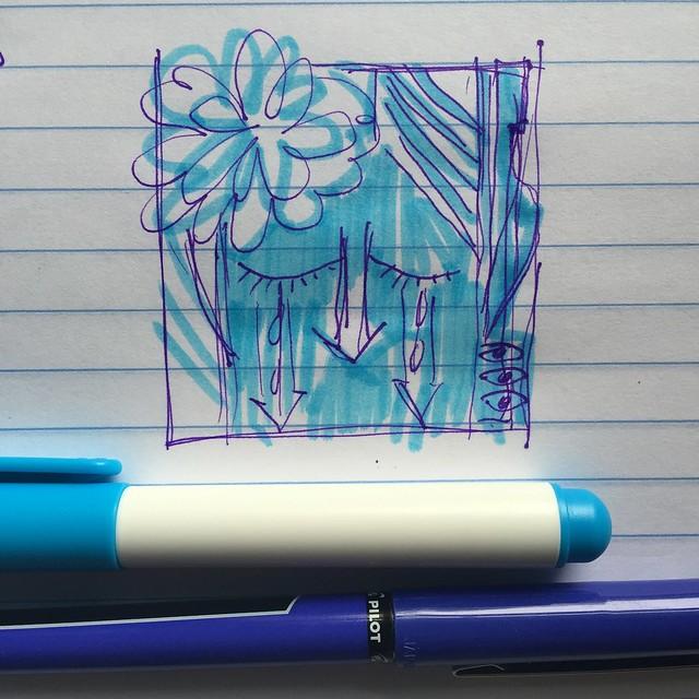 Sketching HankiePankie Designs