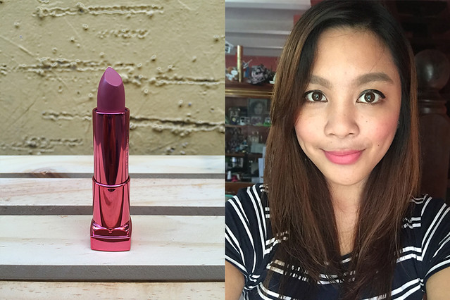 Rosy Peach - Patty Villegas - The Lifestyle Wanderer - Maybelline - Rosymatte - Colorsensational - Matte - Kylie Lipkit Dupes - Beauty Blogger - Lippies