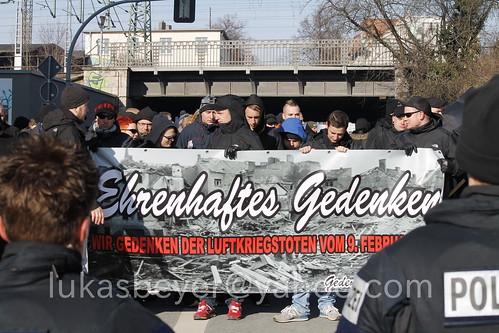 Neonaziaufmarsch in Weimar