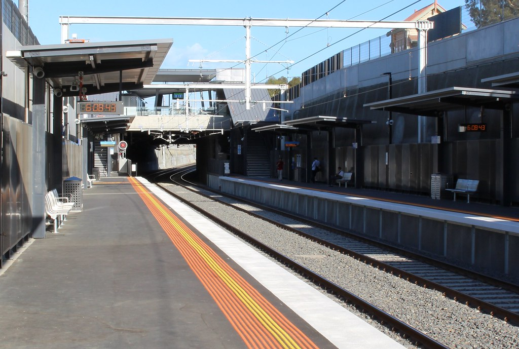 Gardiner station, March 2016