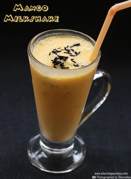 How to make mango milkshake