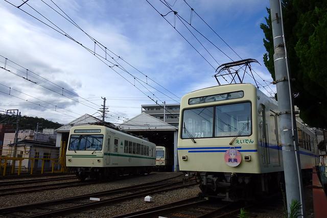 2016/07 叡山電車×NEW GAME! 2016アニメ版ラッピング車両 #17