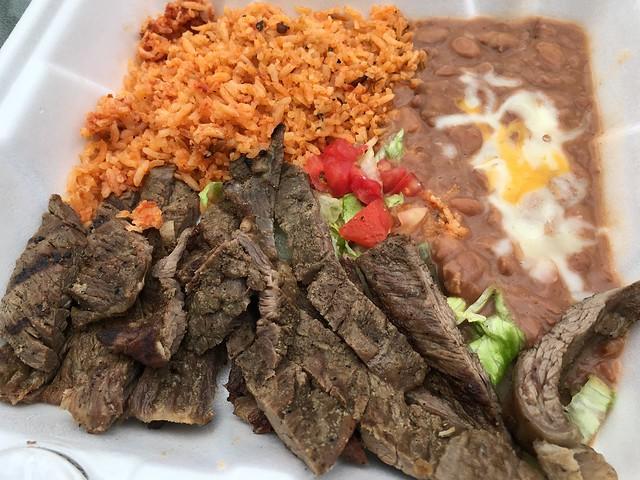 Carne asada combo - Guacamoles