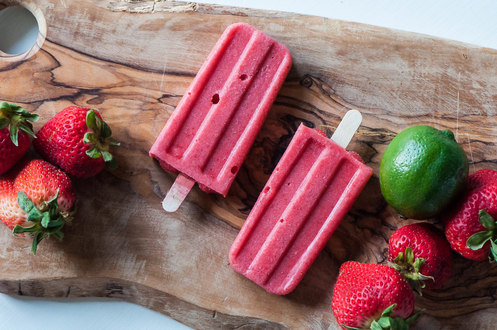 Strawberry Coconut Margarita Pops 10