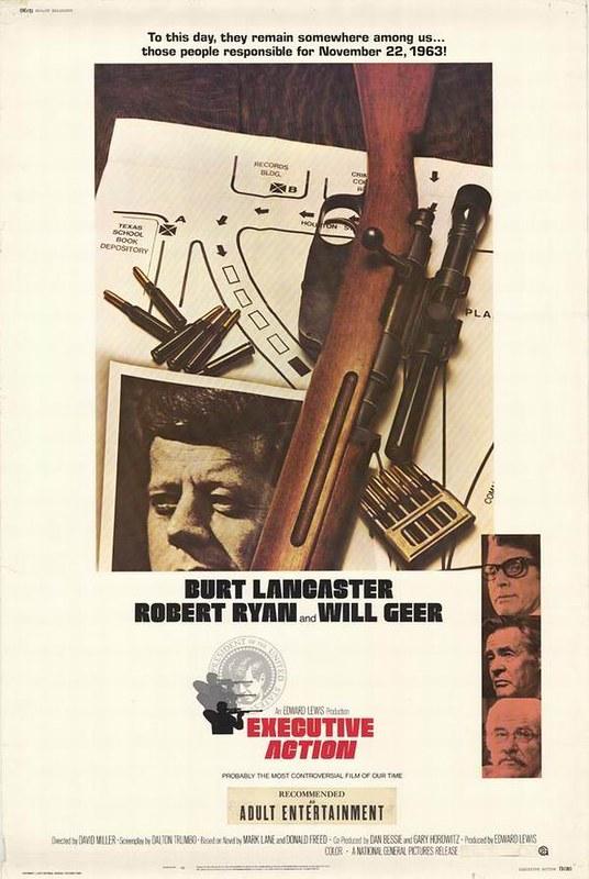 Executive Action - Poster 4