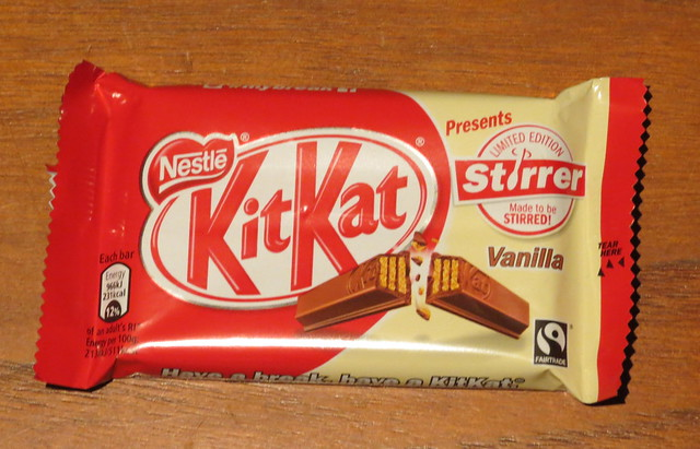 Kit Kat Vanilla Stirrer (UK)