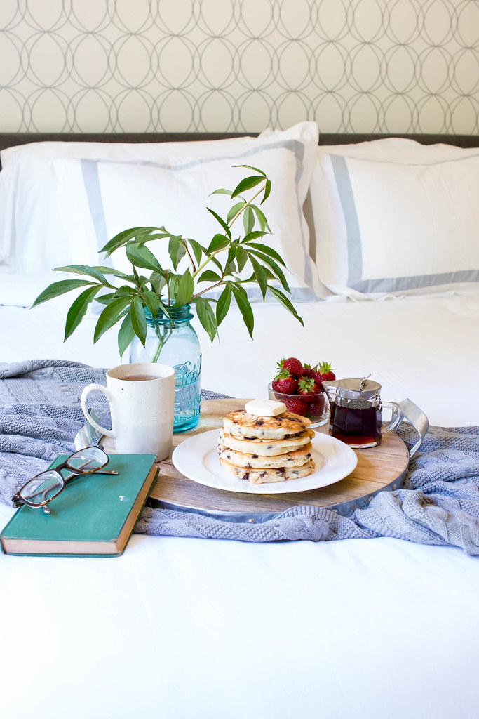Summer Breakfast in Bed with Boll & Branch