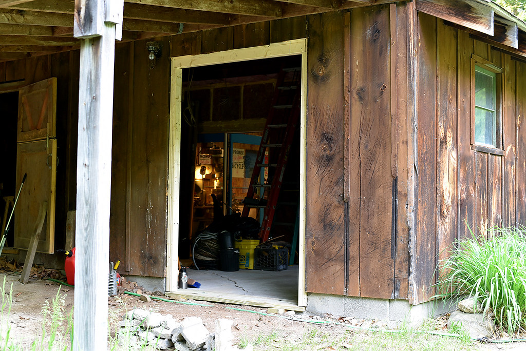 Saturday's Project : Back Door...